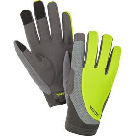Hestra Apex Reflective Long Finger Gloves yellow hi-viz